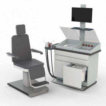 ENT Examination Work Station with Treatment, Endoscopy & Microscopy with all standard accessories