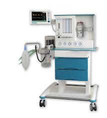 Anesthesia Machine with Ventilator & Monitor