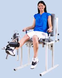 Quadriceps Knee Bench with Weight
