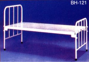 Iron Cot with Mosquito Stand