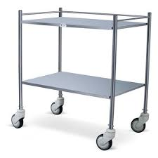 Instrument Trolley (Stainless Steel)